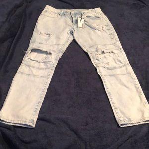 Rue 21 light skinny jeans